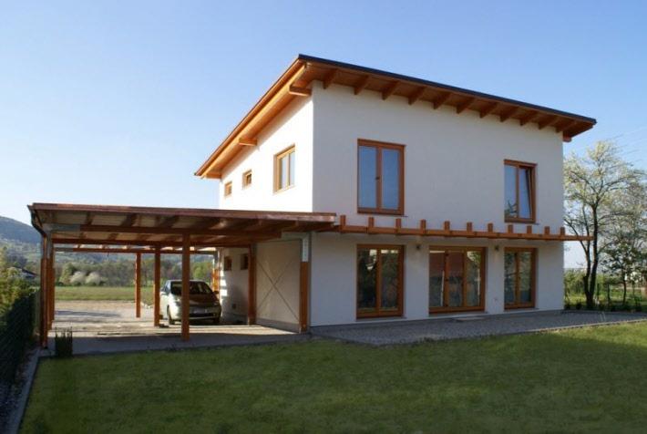 Maison tradition asteria 144 for Case di legno polonia